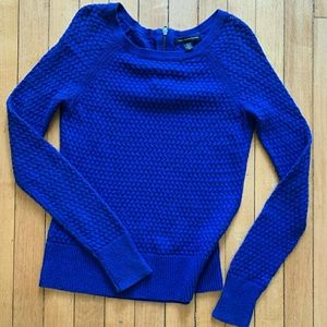 American eagle electric blue sweater